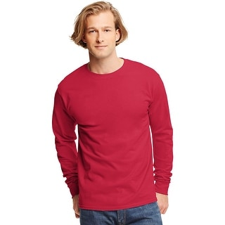 Hanes TAGLESS Long-Sleeve T-Shirt