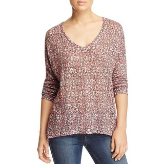 Nally & Millie Womens Tunic Sweater Hi-Low Floral Print (3 options available)