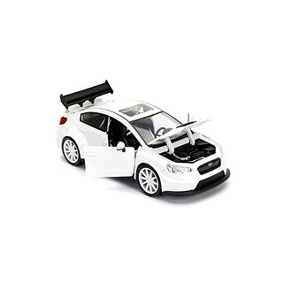 Fast & Furious 1:24 Diecast Vehicle: Little Nobody's Subaru WRX, White