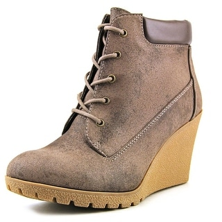 Mia Rachelle Round Toe Synthetic Ankle Boot