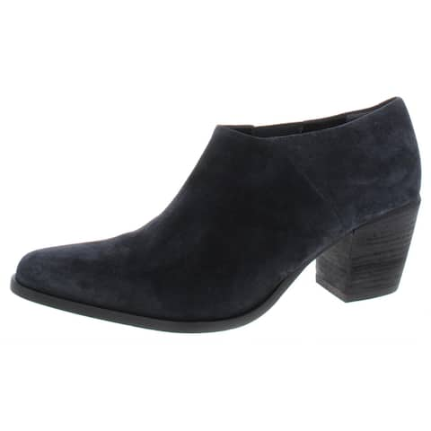 Vince Womens Hamilton Booties Solid Ankle