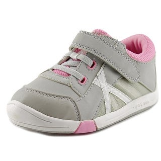 Jumping Jacks Finish Line Toddler W Round Toe Synthetic Gray Sneakers