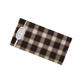 Sunbeam 764-511 King Size Ultraheat Moist/Dry Plaid Heating Pad