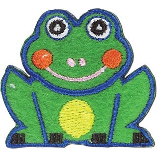 Iron-On Appliques-Frog