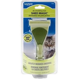 Safari Pet Products CSFW6128 Shed Magic Deshedder for Cats