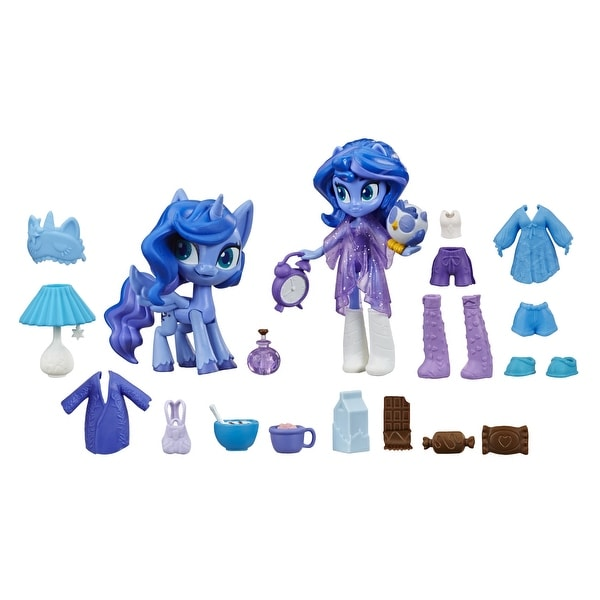 My Little Pony Equestria Girls Princess Luna Potion Princess -- 3-Inch Mini Doll And Pony Toy With 20 Accessories. Opens flyout.