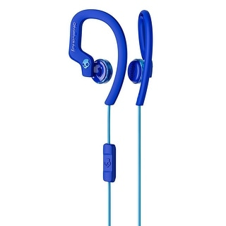 Skullcandy Chops Buds Flex Sports Performance Headphones (Royal Blue)