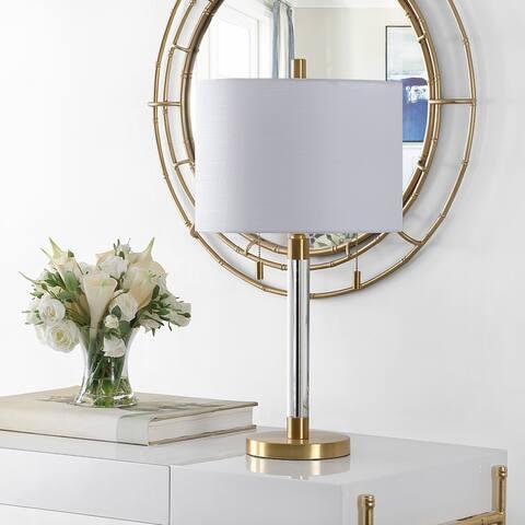 "Safavieh Lighting 26.5-inch Bixby Metal Table Lamp - 14"" x 14"" x 26.5"""