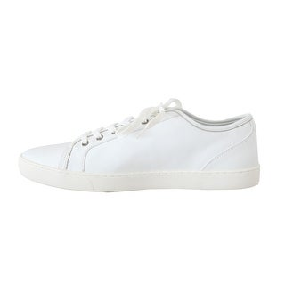 Dolce & Gabbana White Leather Mens Casual Sneakers - eu45-us12