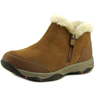 Easy Spirit ESPRISCO Women Round Toe Suede Brown Boot