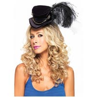 Steampunk Velvet Top Hat Adult Costume Accessory