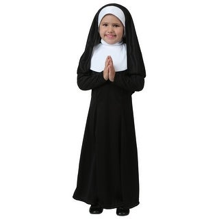 Toddler Nun Costume (Option: Green)