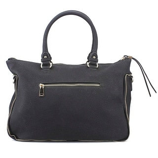 Urban Expressions Alessandra Satchel Women Leather Satchel - Black
