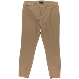 Lauren Ralph Lauren Womens Petites Petite Jodhpur Slim Fit Pants
