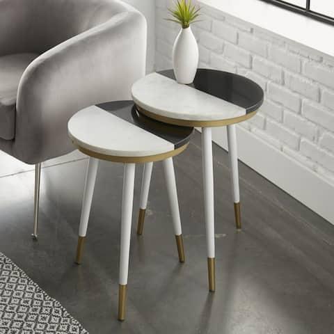 Carson Carrington Tula 2-Piece Side Tables