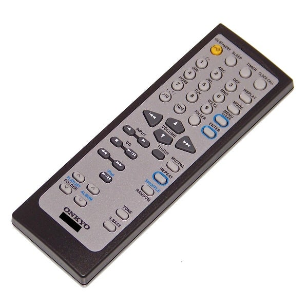 OEM Onkyo Remote Control Originally Shipped With: CR445, CR-445, CS445, CS-445