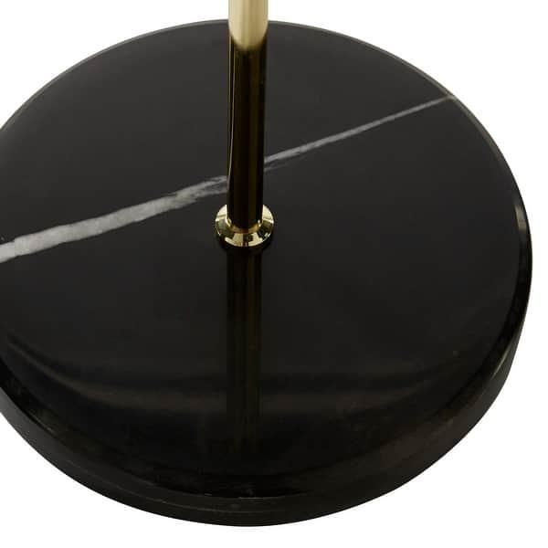 Black Metal Modern Floor Lamp 55 X 11