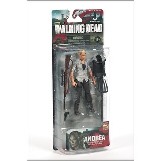 "The Walking Dead TV Series 4 5"" Action Figure: Andrea"