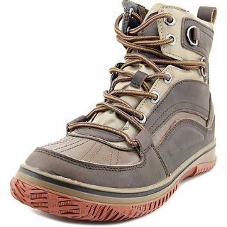 Pajar Conner Men Round Toe Leather Brown Work Boot