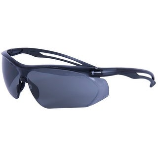 Forney 55430 Safety Glasses, Parralax with Gray Flex Temple and Gray Frame, Clear Lens