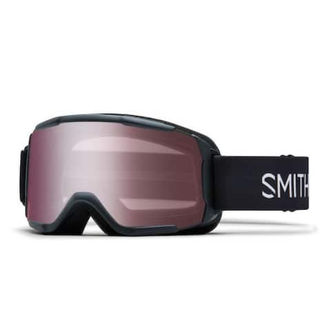 Smith Optics Daredevil Youth Snow Goggles (Black Frame/Ignitor Mirror Lens) - Black