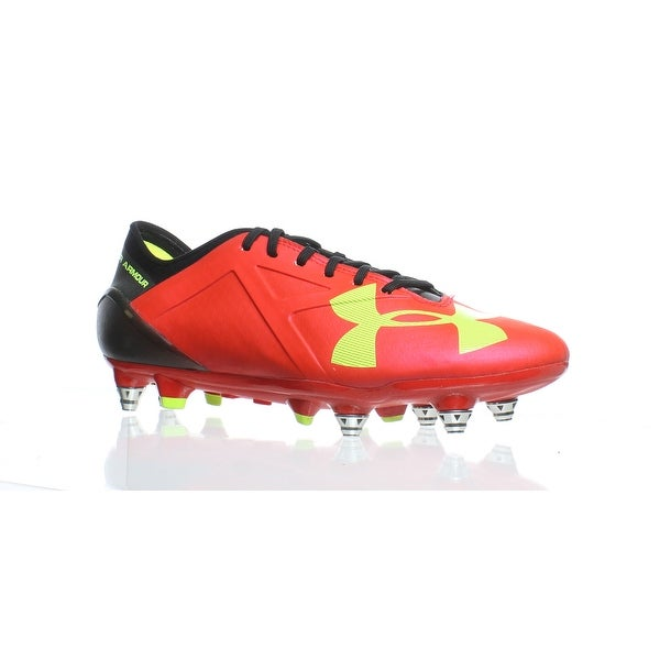 7a62cfb6081 Shop Under Armour Mens Spotlight Red Soccer Cleats Size 6 - Free ...