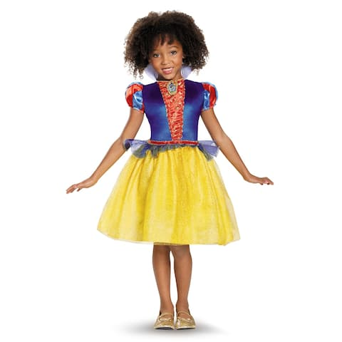 Girls Classic Snow White Disney Princess Costume