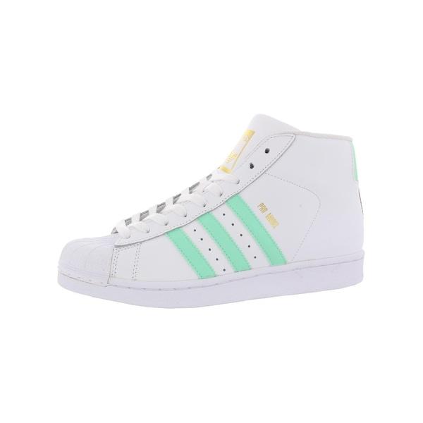 Shop adidas Originals Boys Pro Model Athletic Shoes Padded