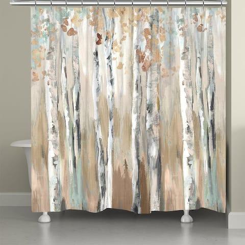 Woods at DuskShower Curtain