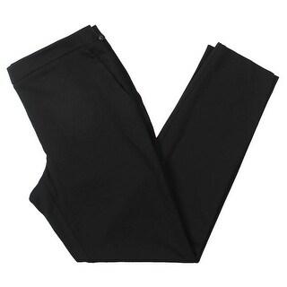Tommy Hilfiger Womens Newport Straight Leg Pants Ponte Straight Leg