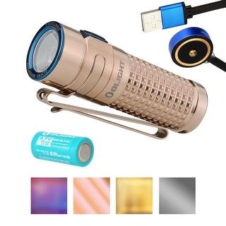 Olight S1R Baton II Limited Titanium Edition Rechargeable Flashlight