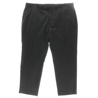 MICHAEL Michael Kors Mens Dress Pants Wool Flat Front - 34/32