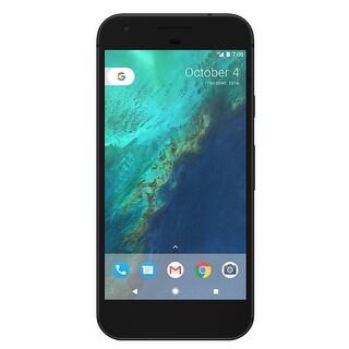 Google Pixel 32GB Unlocked GSM/CDMA Phone w/ 12.3MP Camera - Quite Black - quiet black