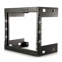 Startech RK812WALLO 8U Open Frame Wall Mount Rack