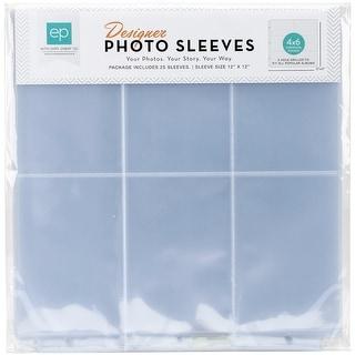 "Photo Freedom Photo Sleeves Protectors 12""X12"" 25/Pkg-(6) 4""X6"" Horizontal Pockets"