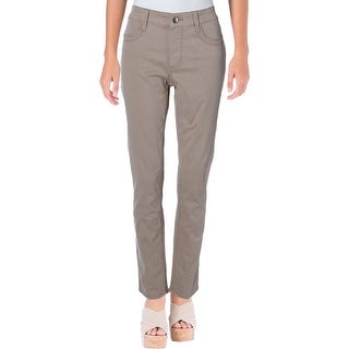 Not Your Daughter's Jeans Womens Petites Samantha Slim Jeans Mid-Rise Colored