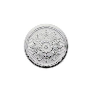 "Ekena Millwork CM21LU 21"" Wide Luton Ceiling Medallion"