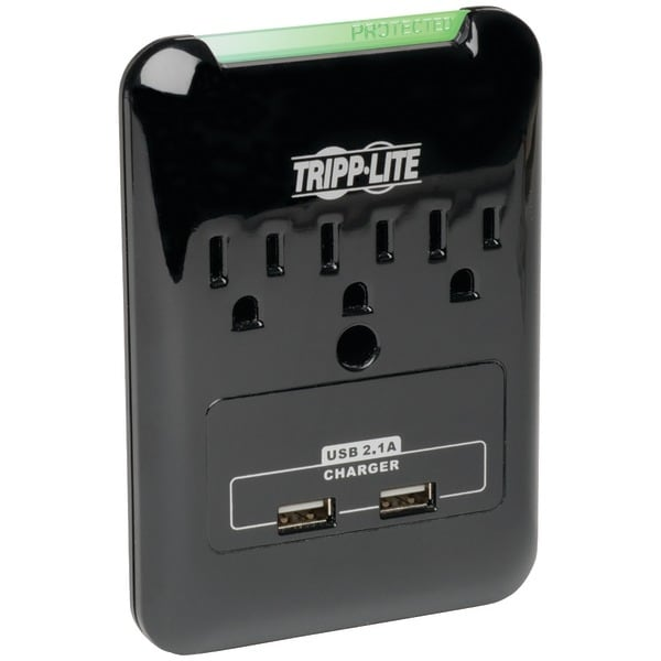 Tripp Lite Sk30Usb 3-Outlet Surge Protector With 2 Usb Ports