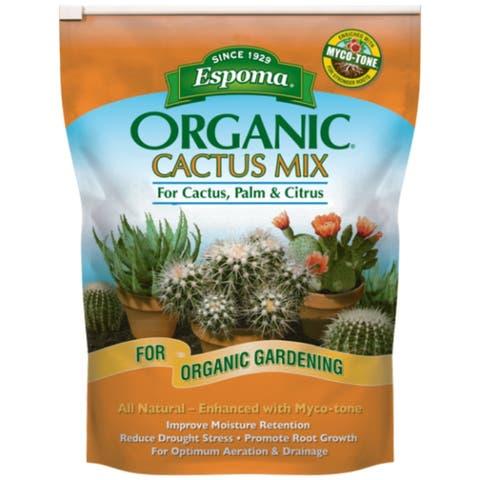 Espoma CA4 Organic Cactus Mix All Natural Potting Soil Mix, 4 Qt