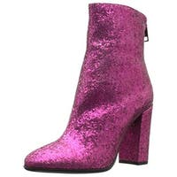 Just Cavalli Womens Ankle Boots Glitter - 36 medium (b,m)