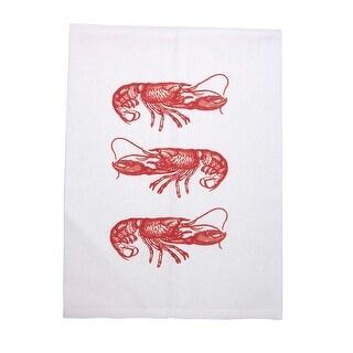 Seaside Sanctuary Graphic Printed Cotton Tea Towels