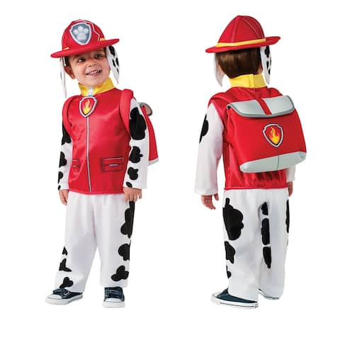 Toddler Paw Patrol Marshall Halloween Costume