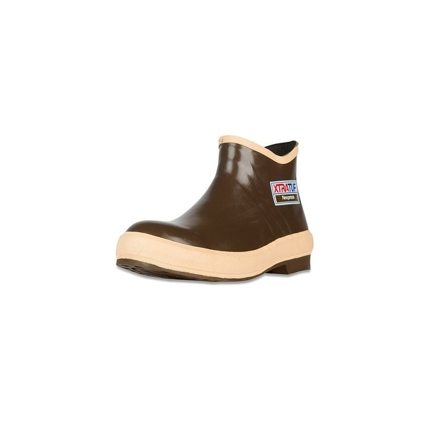 "Xtratuf Mens Legacy 6"" Plain Toe Low Cut Shoes w/ Chevron Outsole - Size 12"