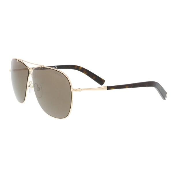 37a381d8135 Shop Tom Ford FT0393 S 28J APRIL Gold Aviator Sunglasses - 61-10-145 ...