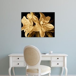 Easy Art Prints Rachel Perry's 'Yvoire Flower II' Premium Canvas Art