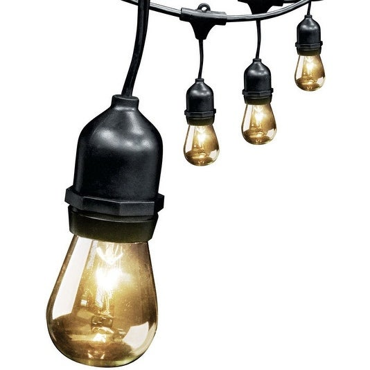 Feit Electric 72034 Drop String Lights, Clear, 20' - Clear
