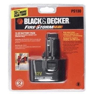 Black & Decker PS130 Firestorm Battery Pack, 12-Volt