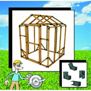6x6 e z frame standard greenhouse or storage shed structure kit lumber not included