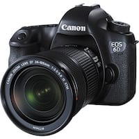 Canon EOS 6D DSLR Camera with 24-105mm f/3.5-5.6 STM Lens (Open Box)