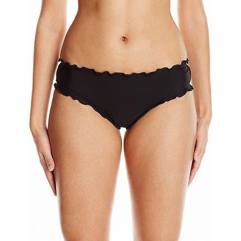 Hobie Womens Medium Scalloped Bikini Bottom Swimwear